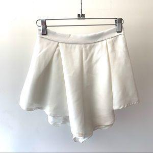 Showpo White Shorts